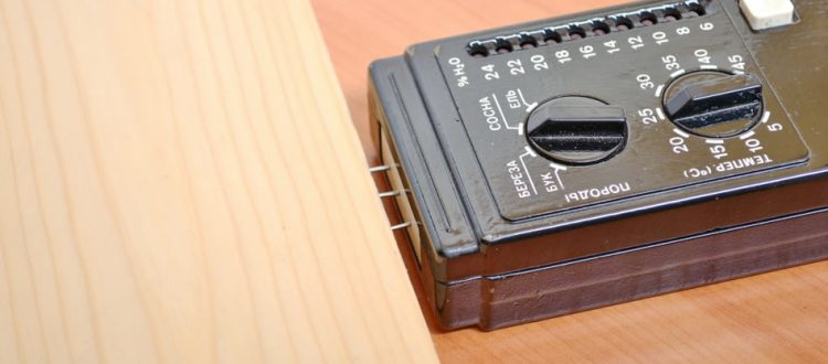 Vochtmeter hout
